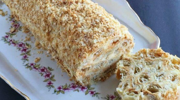 Торт «Полено»: просто и оригинально