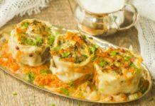 Узбекский ханум готовим в пароварке