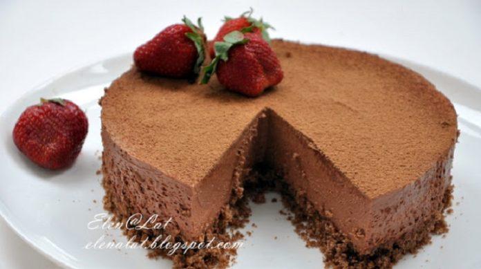Трюфельный торт