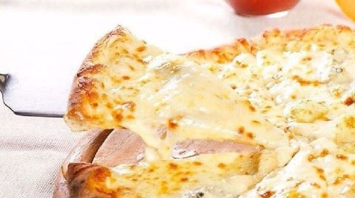 Творожно-сырная пицца