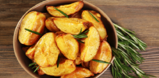 Быстрые картофельные зразы с курицей
