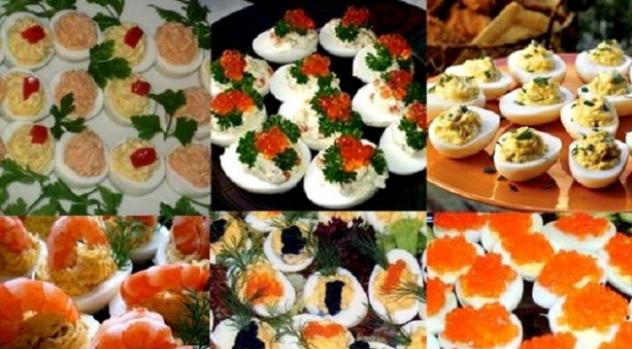 Фаршированные яйца. 26 вариантов для начинки