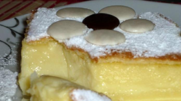 Необычный трехслойный пирог «Магический»