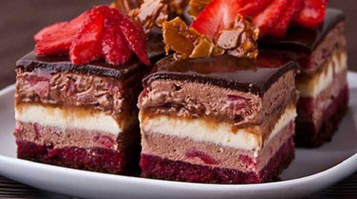 Пирожные «Очаровательные»
