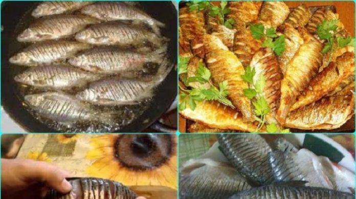 Как пожарить рыбу, чтобы в ней не было костей?
