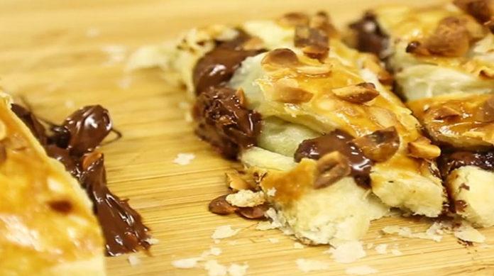 Моментальный пирог с шоколадом