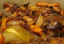 Сочное блюдо из куриной грудки.