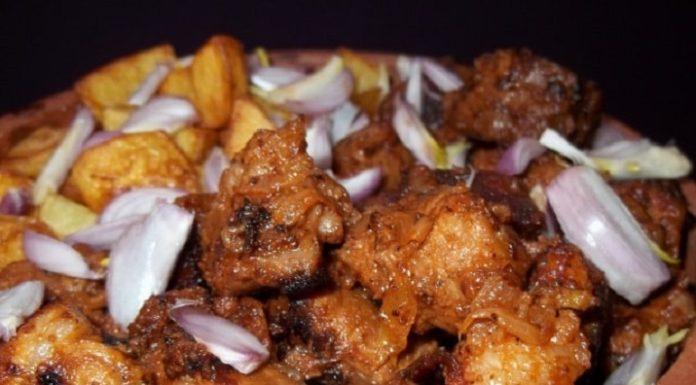 Оджахури — грузинское мясное блюдо для всей семьи