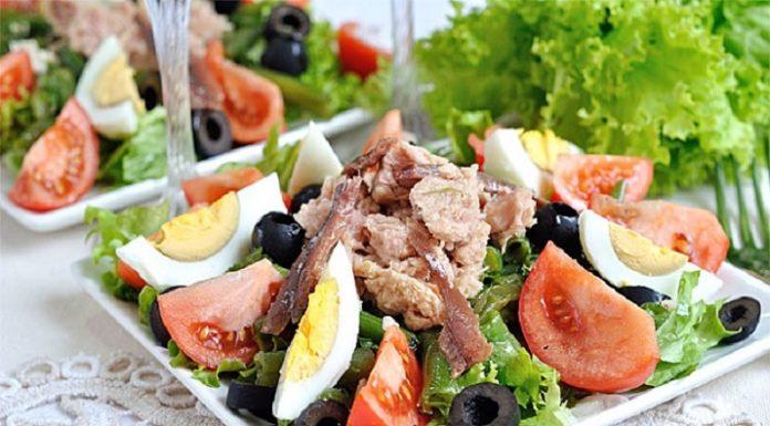 6 интересных салатов на праздничный стол