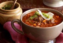 Суп из сельдерея с сыром