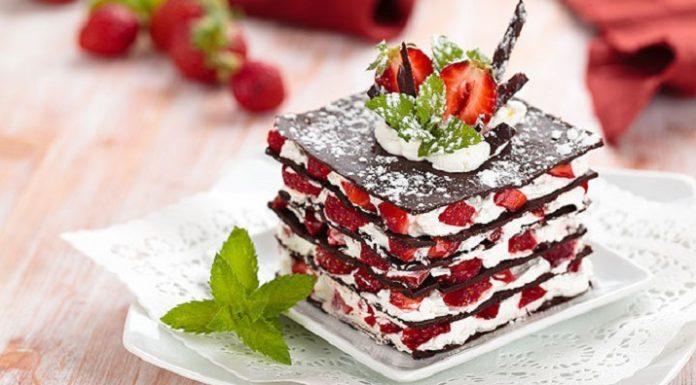 Постные торты и десерты