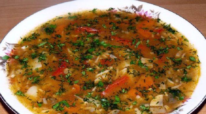 Кавказский грибной суп — и в доме праздник