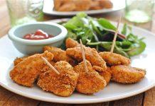 Куриные желудки в сметанно-имбирном соусе
