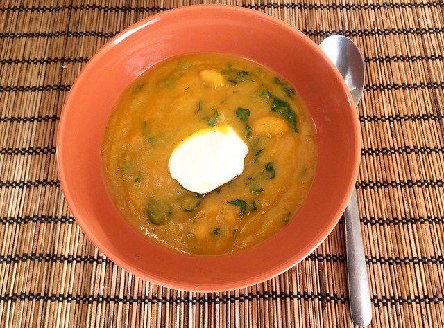 Тыквенный суп по-мароккански