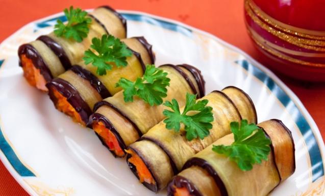Закуски из кабачка и баклажана
