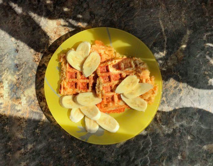 Пятизлаковые сырные вафли в мультипекаре