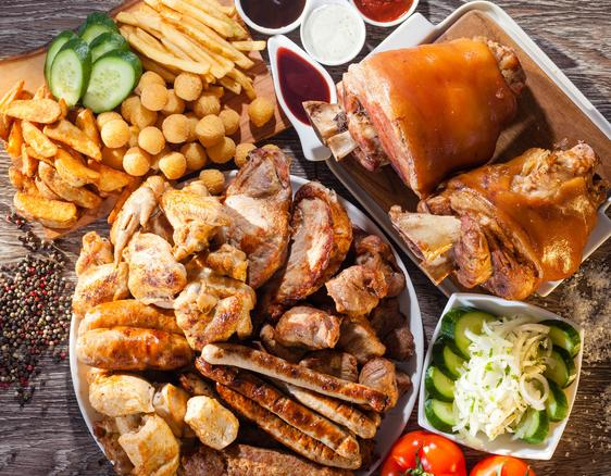 Мясное ассорти или барбекю