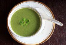 Суп-пюре из кабачка