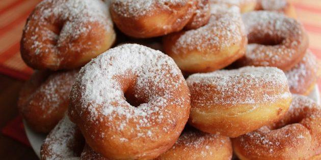 Ароматные пончики