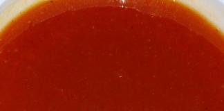 Слоёный салат с курочкой