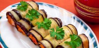 Салат из куриных сердечек с морковкой