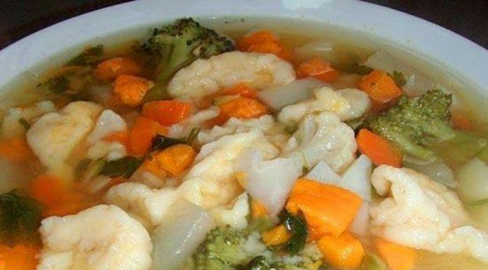 Овощной суп на скорую руку