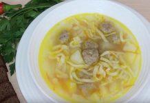 Перловый суп по-польски