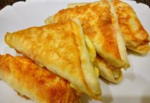 Закуска из маринованных баклажан