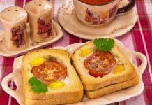 Закусочные рулетики из баклажан