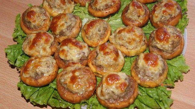Мясные пирожные
