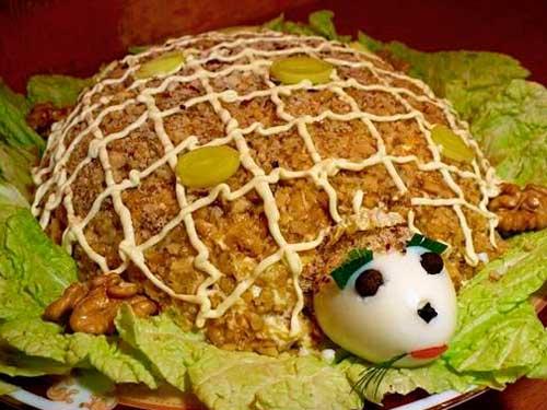 Салат «Тортила»