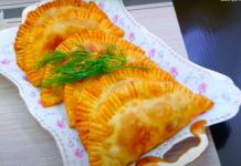 Пирожки с картошкой «Тульский лапоть»