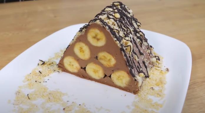 БАНАН, ШОКОЛАД и 15 минут!!! БЕЗ ВЫПЕЧКИ, БЕЗ ПЕЧЕНЬЯ. Самый БЫСТРЫЙ и ВКУСНЫЙ десерт из бананов…