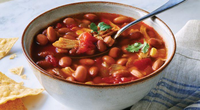 Бостонский фасолевый суп