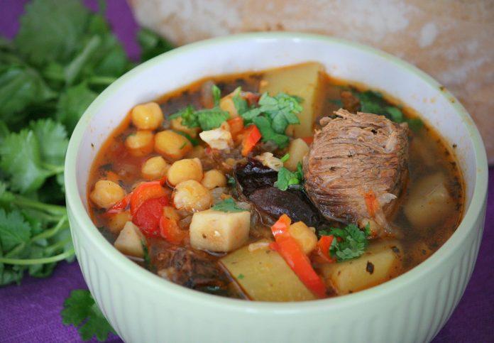 Блюда с нутом. Суп «Бозбаш». И нут с мясом и овощами.