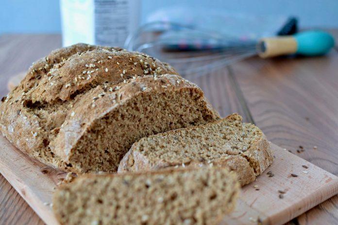 Домашний хлеб из зелёной гречки