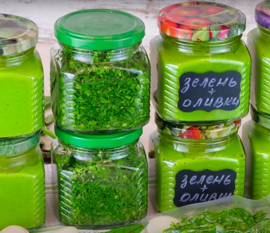 Способы заготовки зелени на зиму с сохранением вкуса и аромата! Свежая зелень зимой.