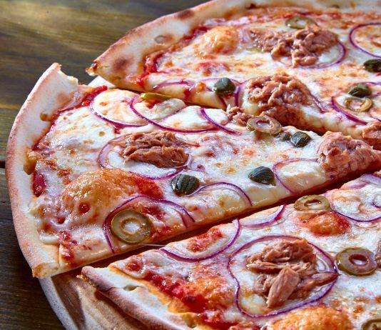 Знатная мясная пицца!