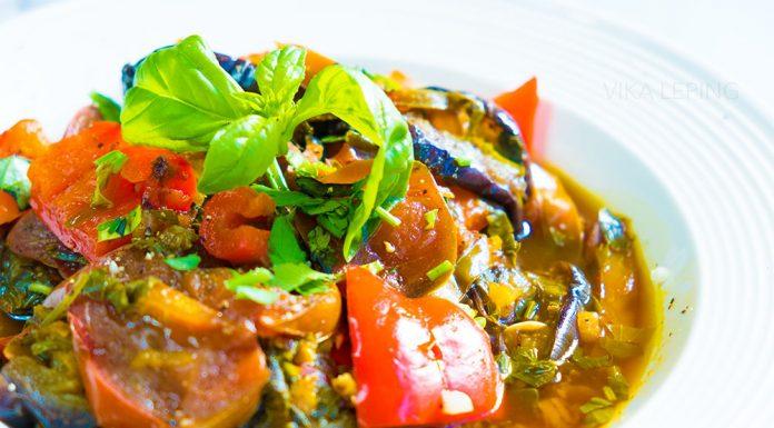 Соте из свежих овощей! Только с грядки! Яркое, ароматное, летнее блюдо!