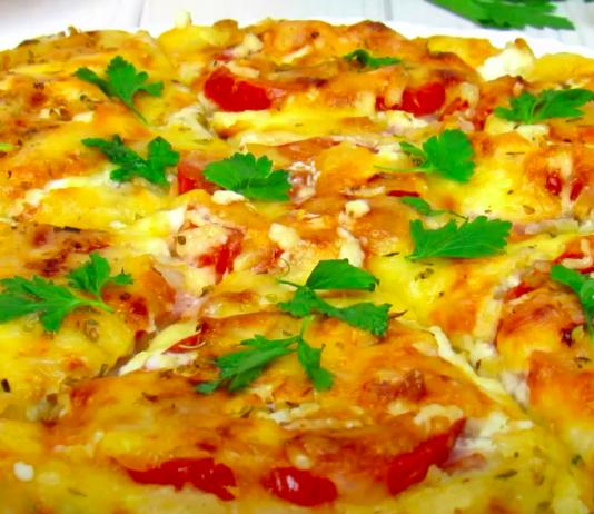 Пицца из кабачков. Очень вкусно! ☆ Ещё один удачный рецепт блюда из кабачков ☆ Кабачковая пицца.