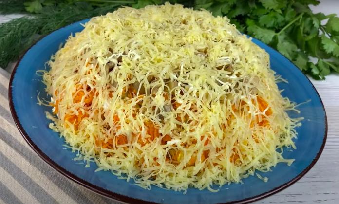 За рецептом этого САЛАТА охотятся все хозяйки! Ну очень Вкусный Салат «Охотничий».