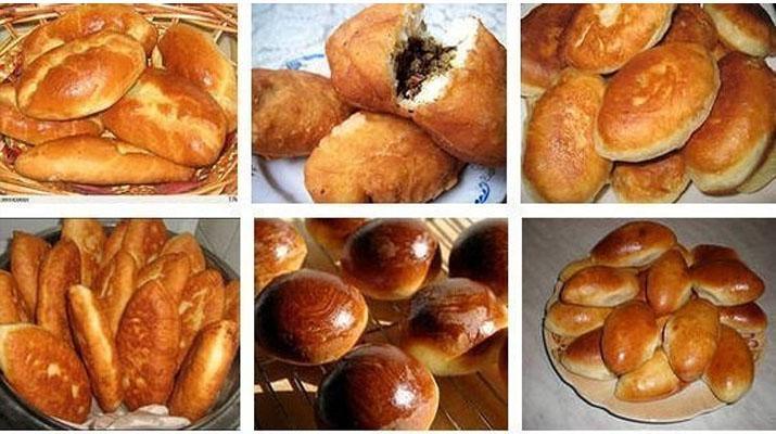 рецепты легкие и быстрые пирожки