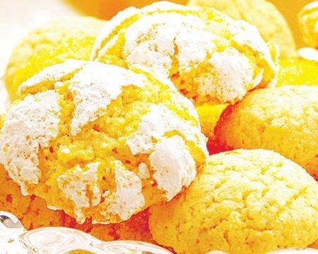 Домашнее печенье с апельсиновой цедрой и корицей