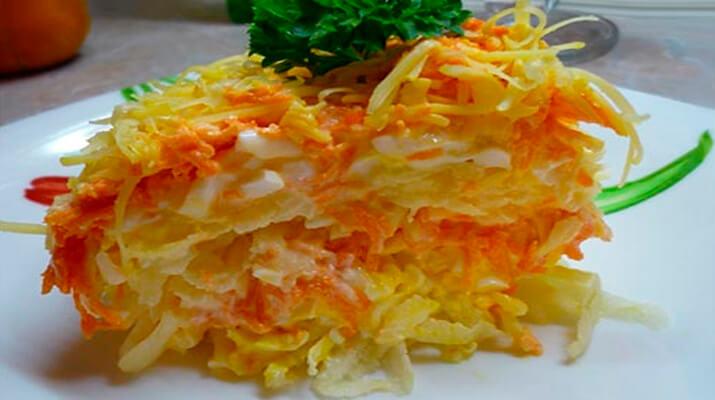 салат простой но очень вкусный