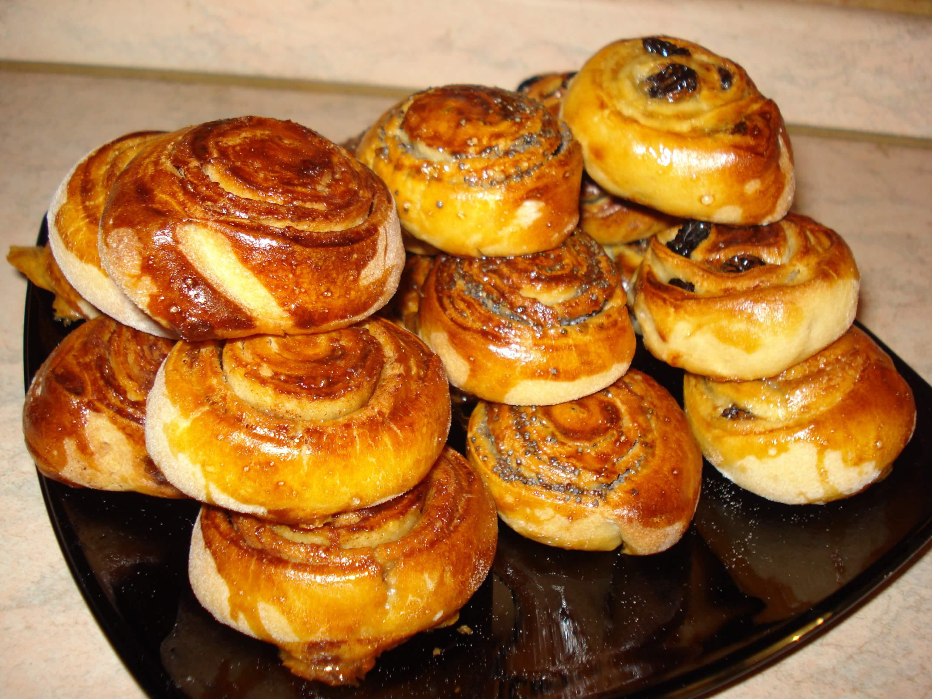 Аппетитные пирожочки и булочки