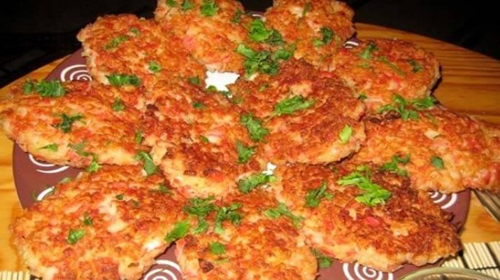 котлеты из крабовых палочек с сыром рецепт пошаговый