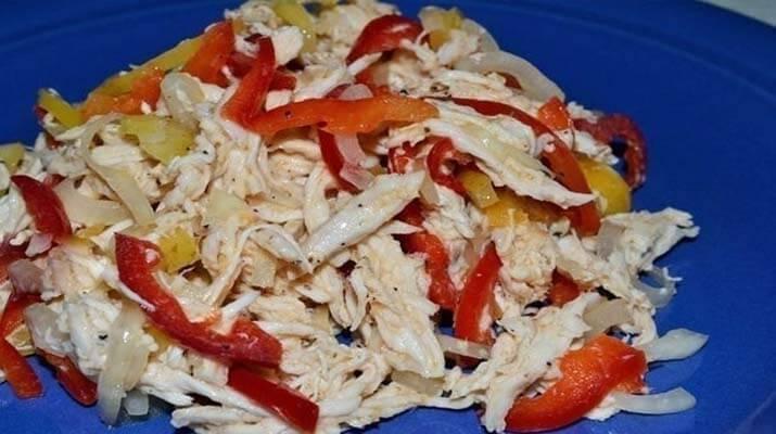 Очень вкусный и сочный салатик
