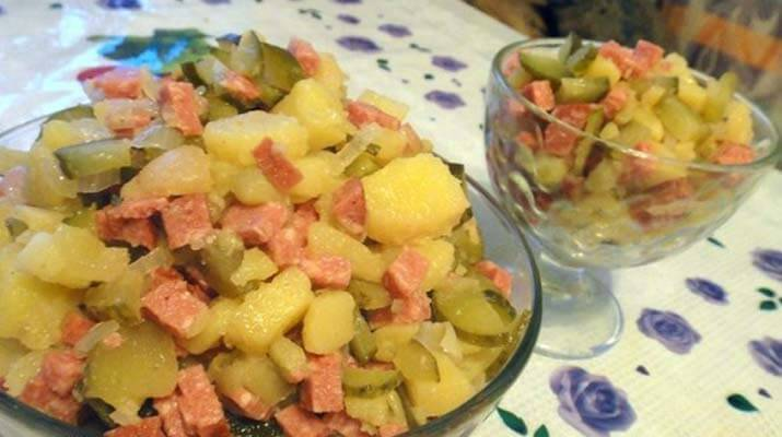 Салат «Колбасный»