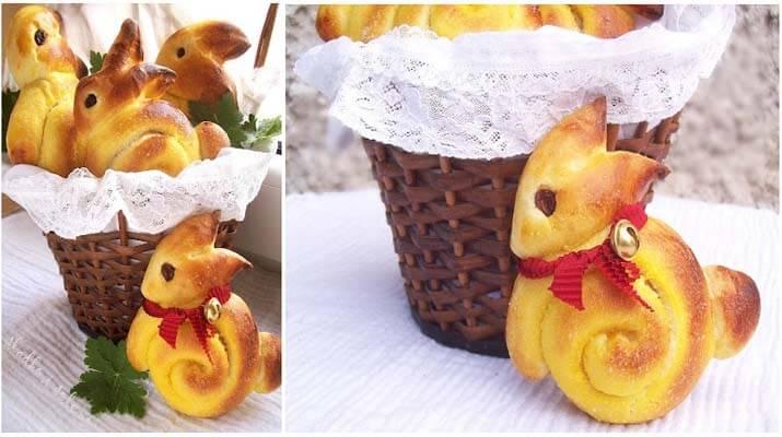 Вкусные пасхальные зайчики