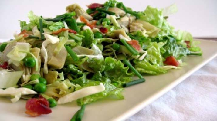 Салат из савойской капусты